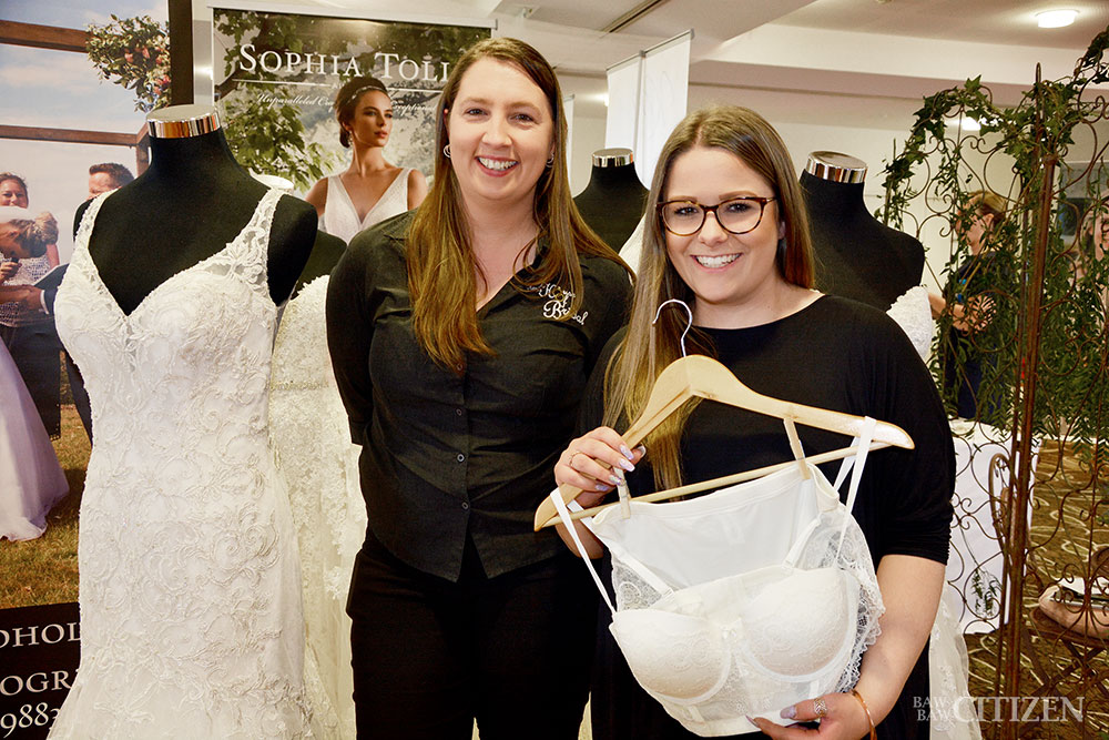 what's in at the 2017 drouin wedding expo fpress com au network Wedding Ideas Expo Traralgon when it comes to wedding gowns, kerri (left) from kerri's house of bridal in warragul says \u201cfit and flair, and boho gowns\u201d are in wedding ideas expo traralgon